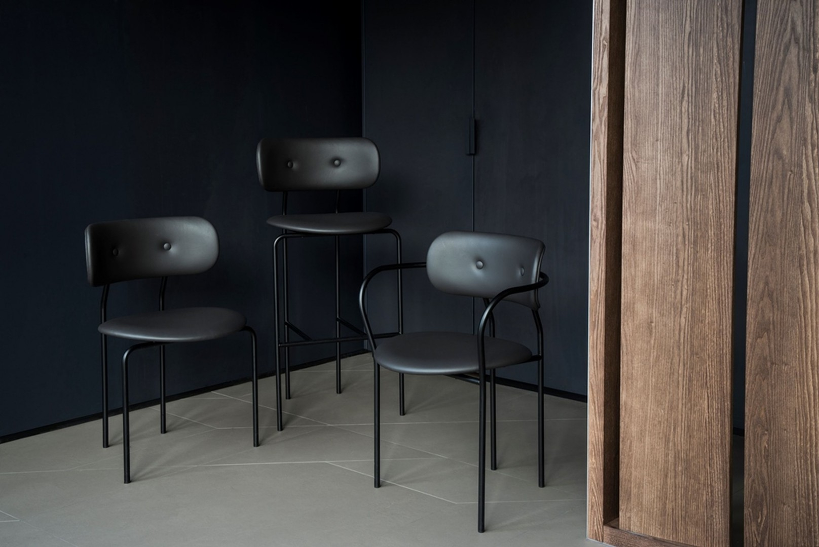 Hollace Cluny Coco Bar Counter Chair By Gubi